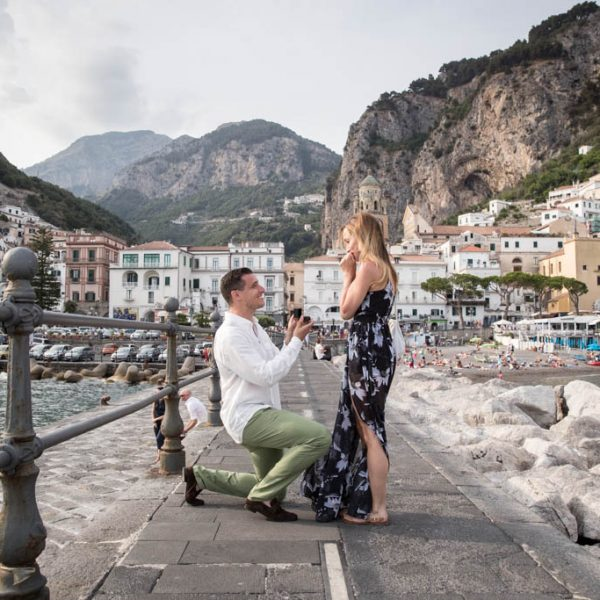 Elite Miss New York gets marriage proposal in Amalfi