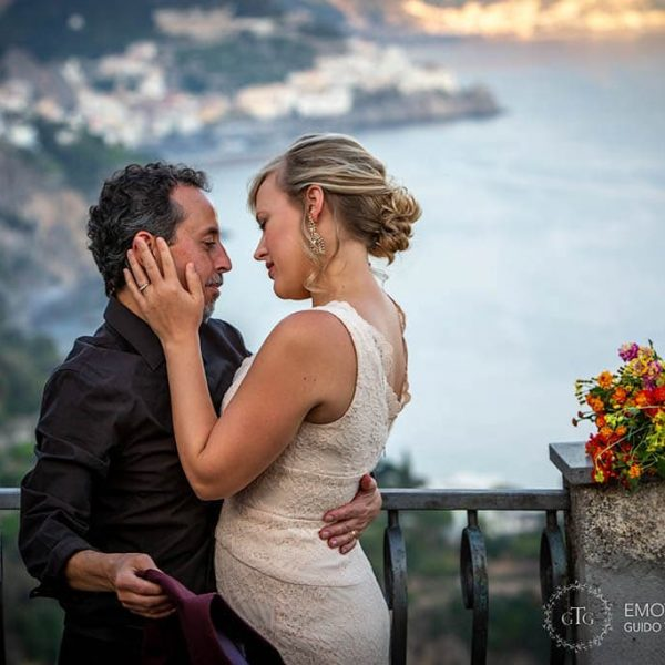Elopement on the Amalfi Coast - Emily & Engin