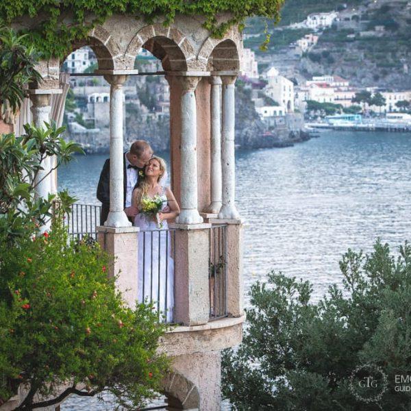 Fotografo di Matrimonio in Costiera Amalfitana - Orlaigh & Alan